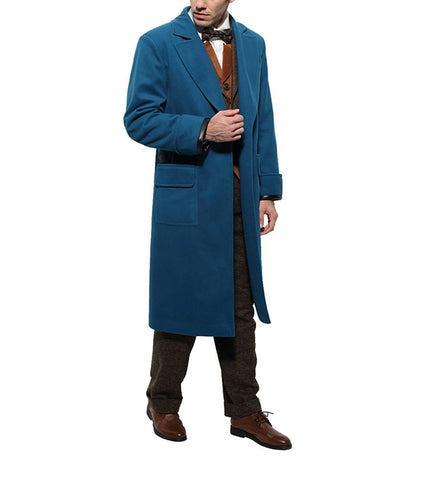 Fantastic Beasts and Where To Find Them Peacock Blue Coat