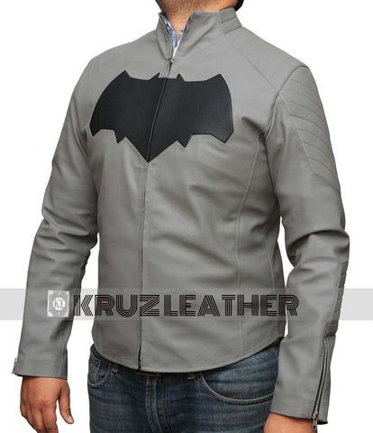 Dawn Of Justice Grey Batman Jacket - The Film Jackets