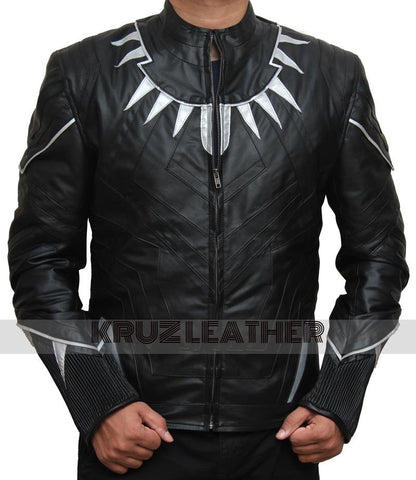 Black Panther Leather Jacket - The Film Jackets