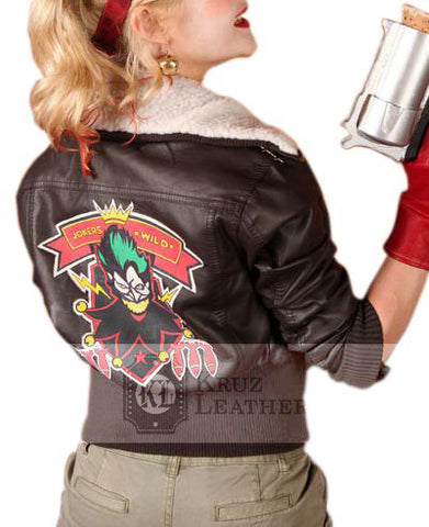 Harley Quinn Bombshell Jacket - The Film Jackets