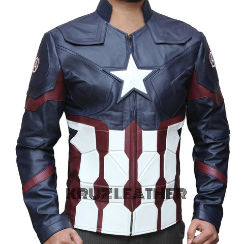 Captain America Civil War Jacket - The Film Jackets