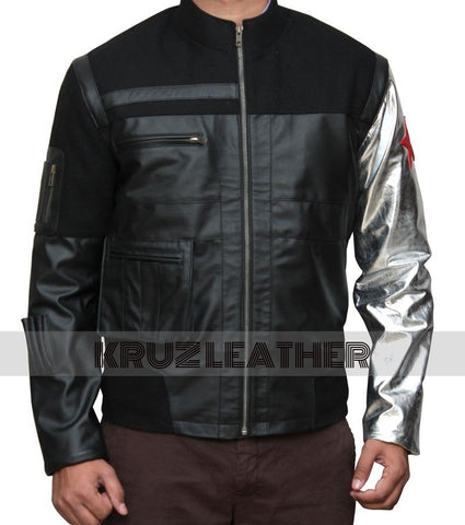 Civil War Winter Soldier Leather Jacket - The Film Jackets