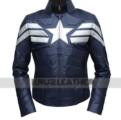 Captain America The Winter Soldier Jacket - The Film Jackets