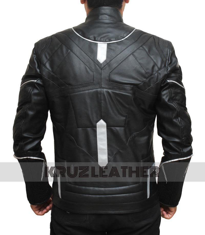 Film leather jackets