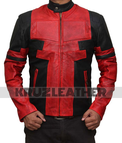 Deadpool Leather Jacket - The Film Jackets