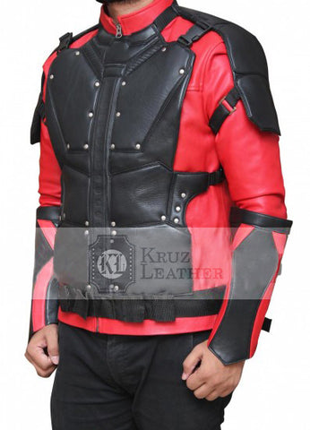 Will Smith Red And Black Jacket - The Film Jackets