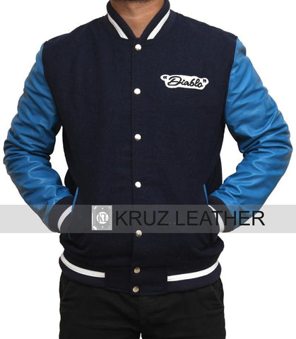 Jay Hernandez Blue Letterman Jacket - The Film Jackets