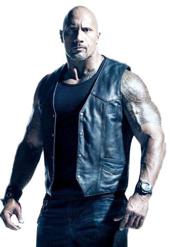 Dwayne Johnson Vest From The Fate Of The Furious