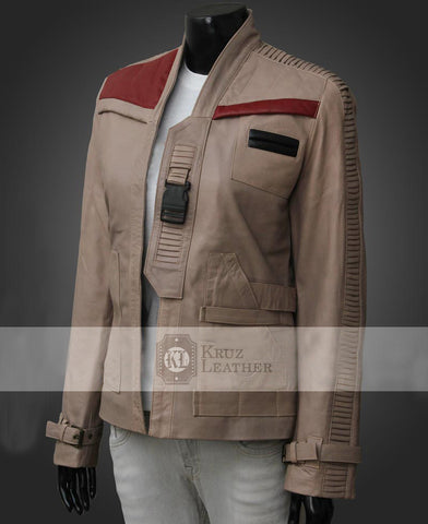 Poe Dameron Finn Woman Jacket - The Film Jackets