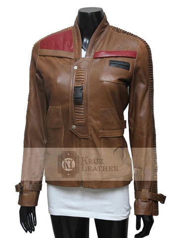 Finn Woman Chocolate Brown Jacket - The Film Jackets