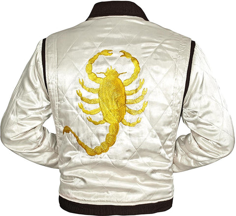 Slim Fit Ryan Gosling Biker Jacket  from Drive