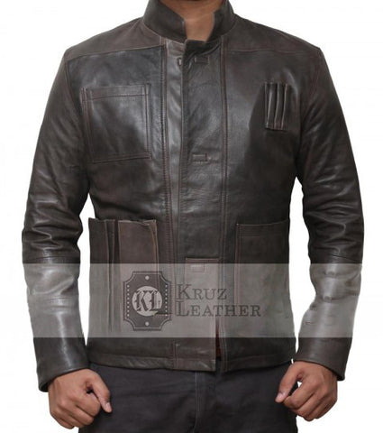 Han Solo Star Wars The Force Awakens Jacket - The Film Jackets