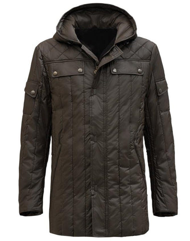 Han Solo Star Wars Parka Coat - The Film Jackets