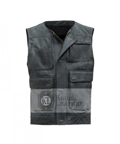 Han Solo Star Wars Vest - The Film Jackets