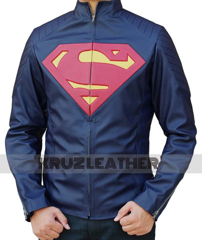 Man of Steel Superman Jacket Blue - The Film Jackets