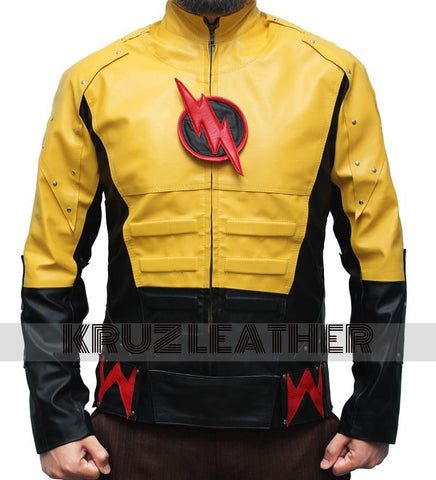 The Reverse Flash Yellow Jacket