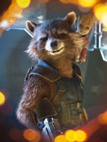 Guardians Of The Galaxy Vol 2 Rocket Raccoon Leather Vest