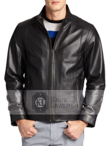 Rick Flag Leather Jacket - The Film Jackets