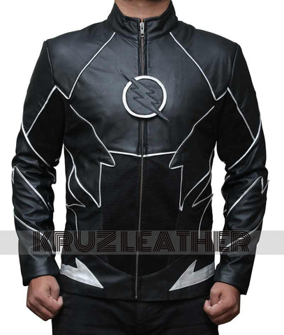 The Flash Zoom Black Jacket - The Film Jackets