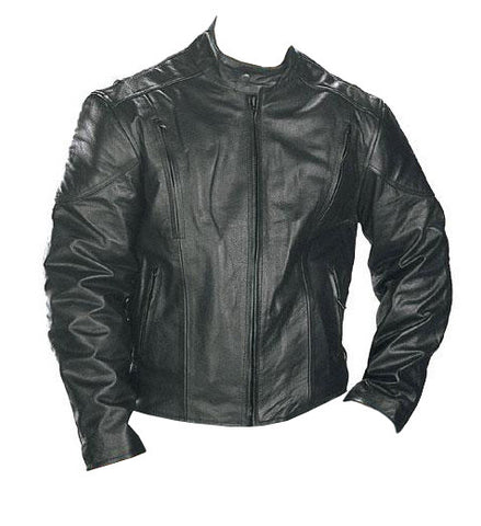 Speedster Motorcycle Leather Jacket for Men