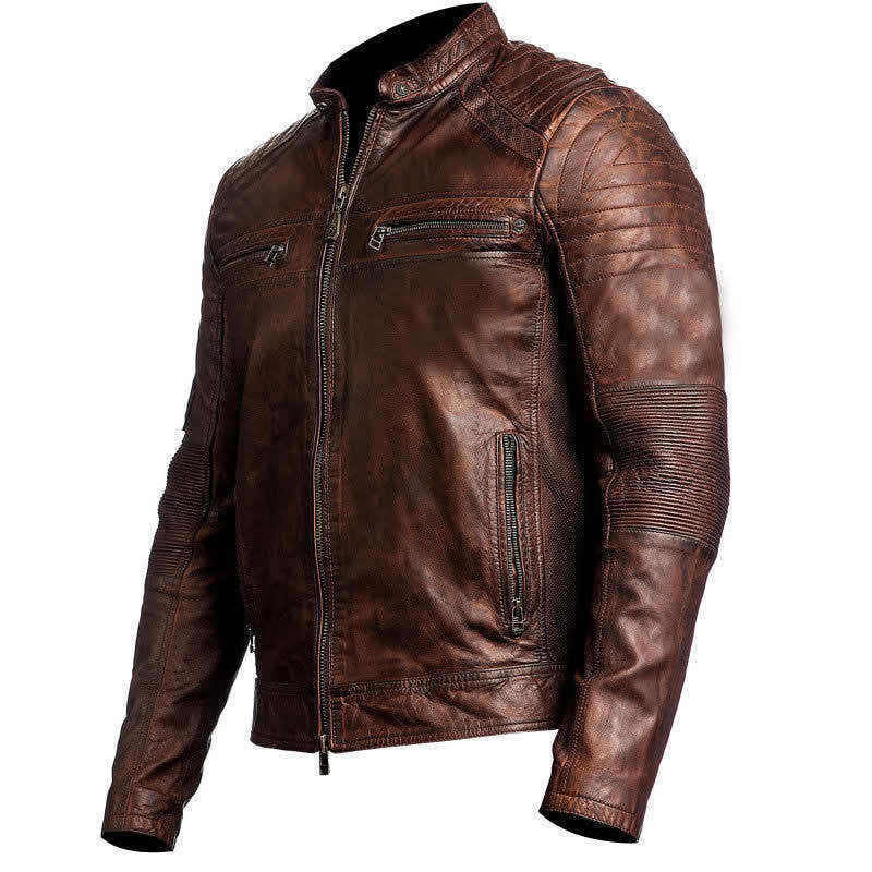 f9ce17881 Cafe Racer Biker's Jacket | Men's Biker Jacket – The Film Jackets