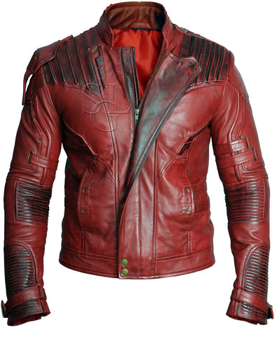 Guardians of The Galaxy Vol.2 Chris Pratt Genuine Leather Jacket
