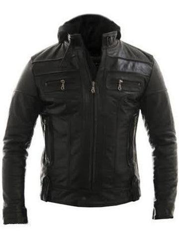 Racing Style Motorcycle Real Leather Jacket - The Film Jackets