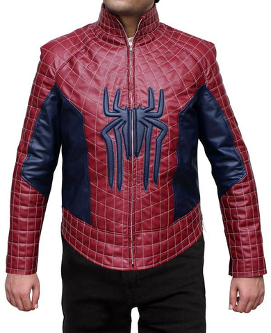 The Amazing Spiderman 2 Leather Jacket - The Film Jackets