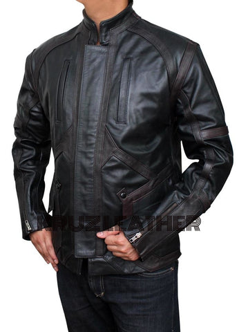 Captain America: Civil War Sebastian Stan Black Jacket - The Film Jackets