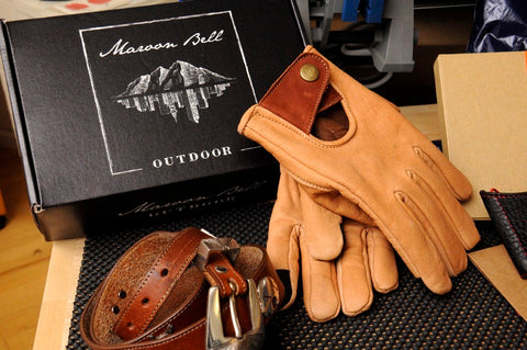 Buffalo leather Gloves - Rainy Day Magazine