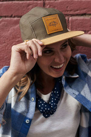Flannel Shirt and Hiking Hat Colorado apparel
