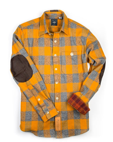 Campfire flannel shirt holiday gift idea from Maroon Bell Outdoor