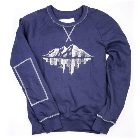 The Doc crew neck sweatshirt holiday gift idea from Maroon Bell Outdoor