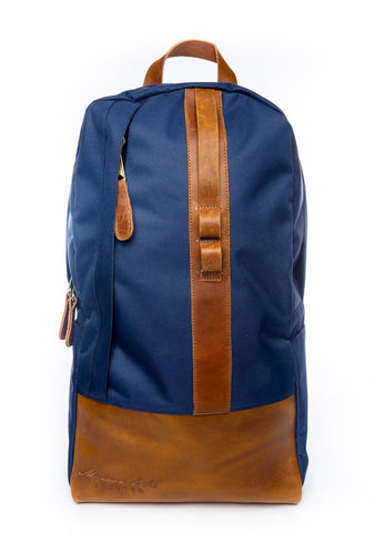 Front view of The Weekender Backpack from Maroon Bell Outdoor