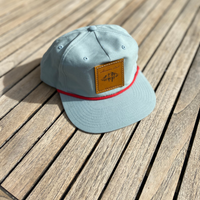 The Carl Snapback - Nylon Hat - Light Blue