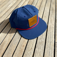 The Carl Snapback - Nylon Hat - Blue