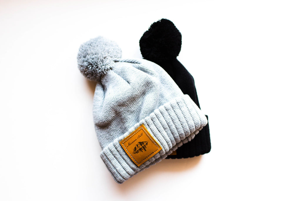 Urban Outdoor Beanie with Pom | Maroon Bell Outdoor®