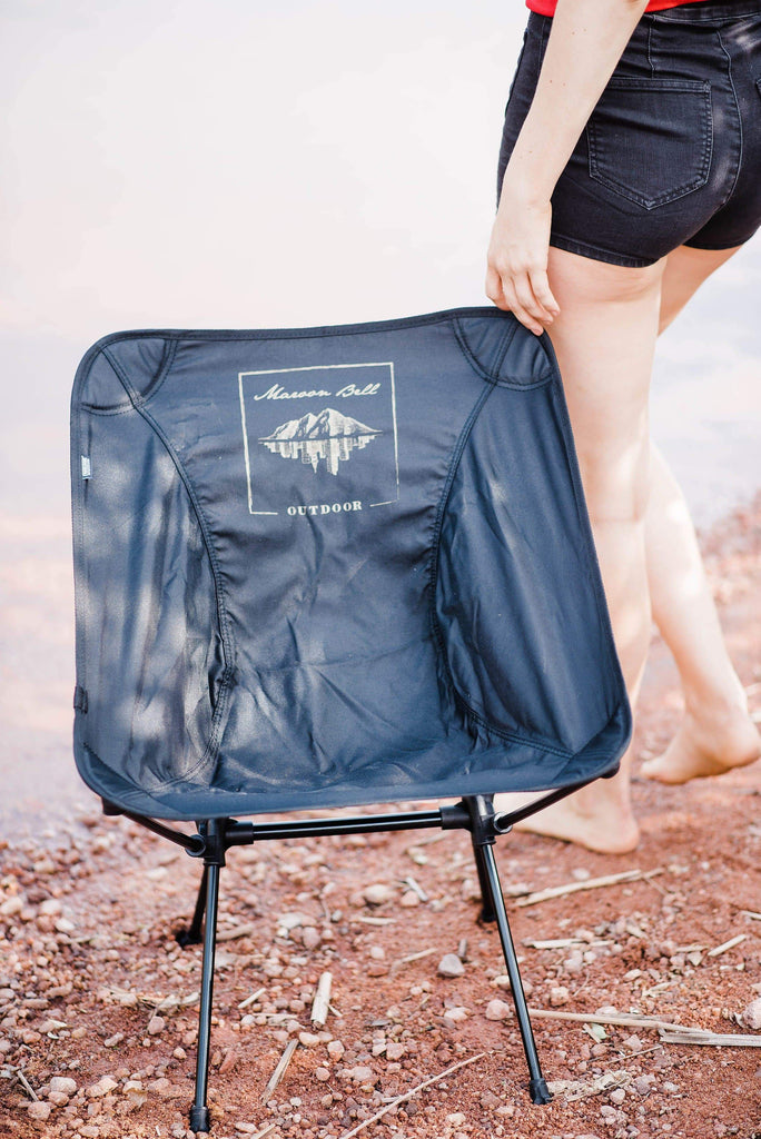 Summer Chair | 2 lbs | Collapsable | Maroon Bell Outdoor®