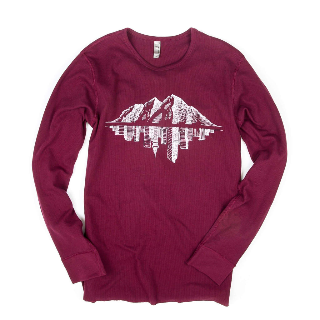 Thermal Long Sleeve | Unisex | Maroon | Maroon Bell Outdoor®