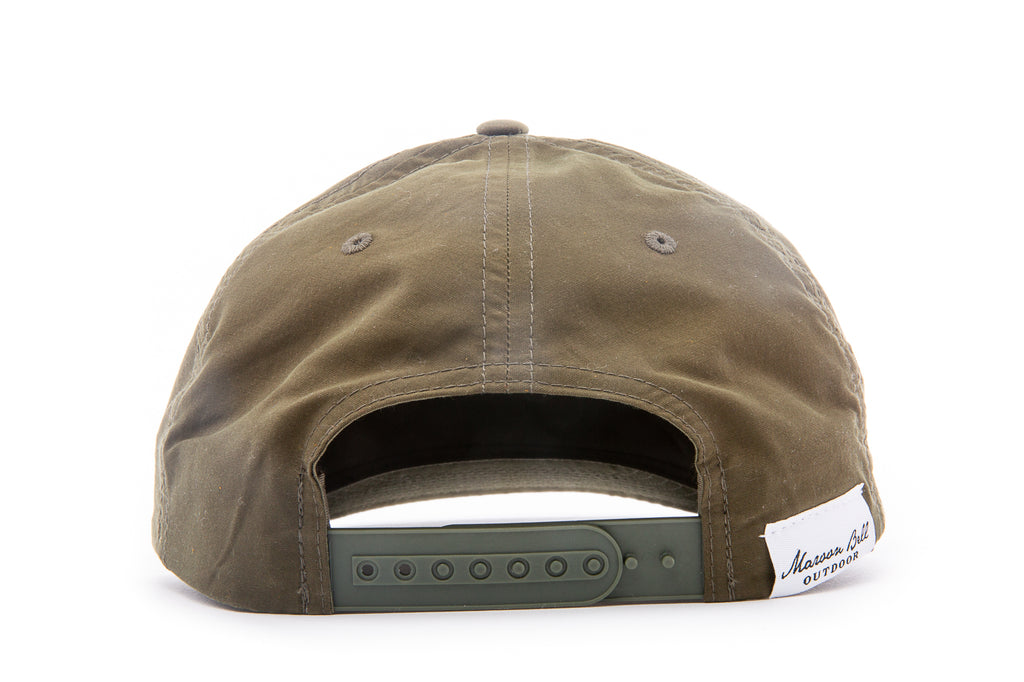 The Carl Snapback - Nylon Hat - Green