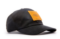 Urban Outdoor Hat - All Cotton - Black - Leather Patch - KIDS