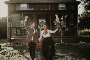 Textile Inspired Hill Country Elopement