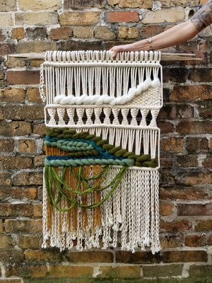 Emerald Macrame Wall Hanging