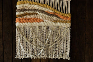 """Sunstone"" Macrame Wall Hanging (Made to Order)"