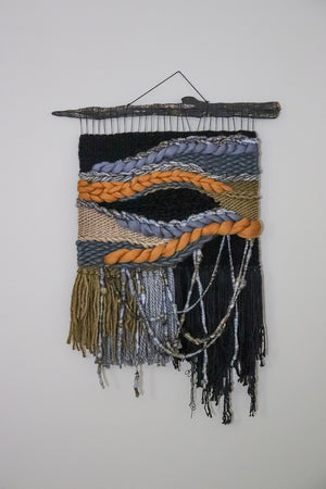 Celestial Inspired Woven Wall Hanging