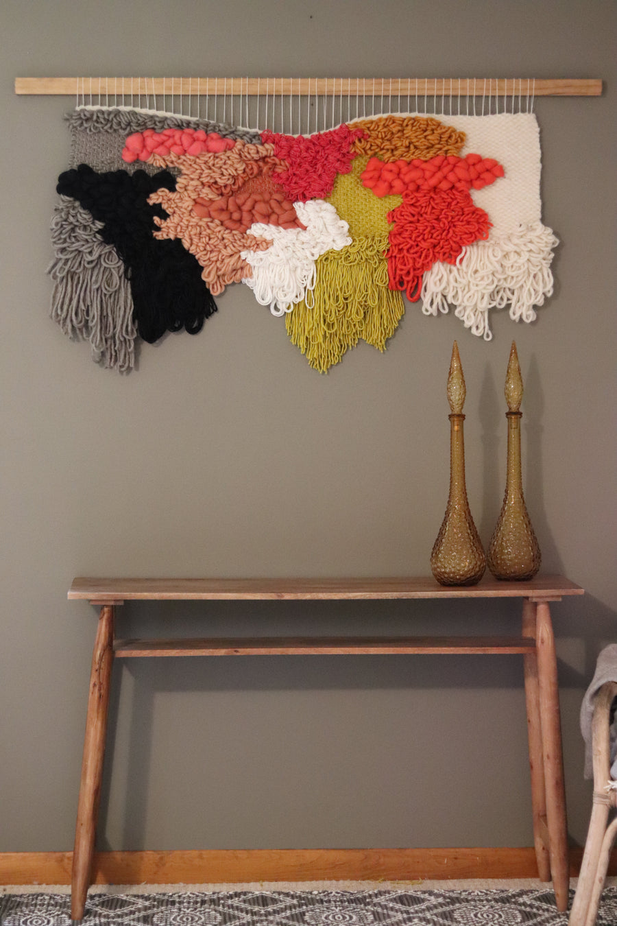 """Petrie"" Woven Wall Hanging"
