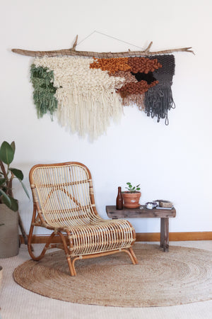 Fluffy & Textured Modern Wall Hanging (Made to Order)
