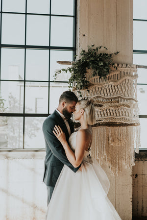 Extra Large Neutral Ceremony Backdrop