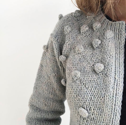 MAMAPOP CARDIGAN (English pattern)