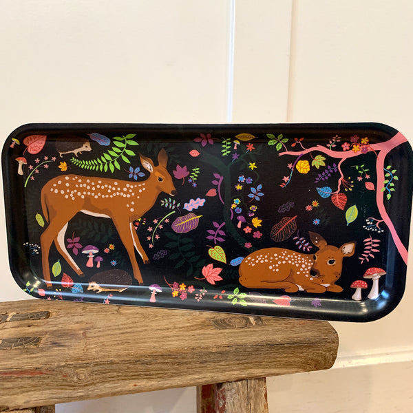 The Fawn Birchwood Tray 10.5x8 in